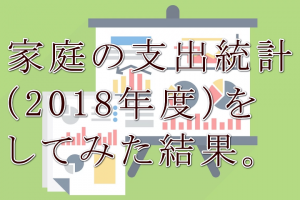 家庭支出統計2018
